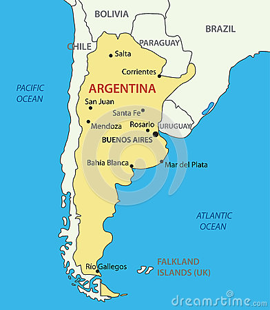 Globe Trotter In Argentina Published By Silexu On Day - Argentina globe map